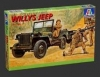 Italeri 314 - Willis MB Jeep with Trailer